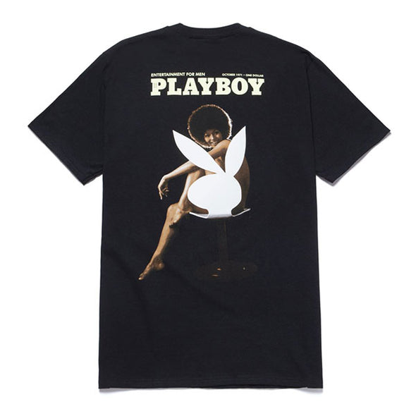 HUF Playboy October 1971 T-Shirt Black
