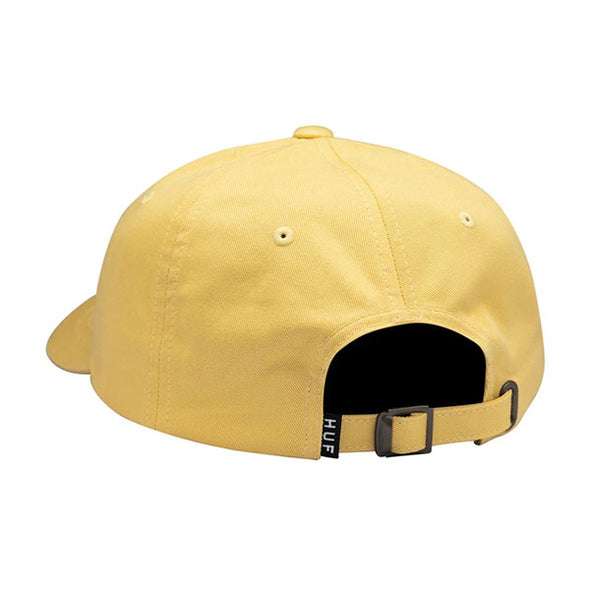 HUF Semitropic Curved Visor Hat Yellow