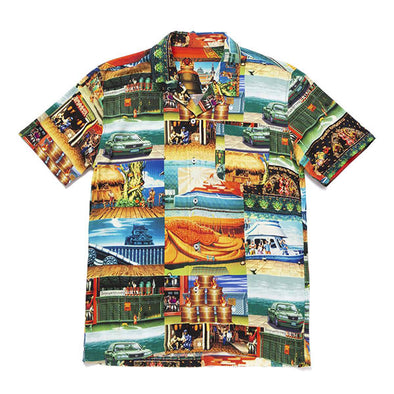 HUF x Street Fighter Stages Resort Shirt Multi