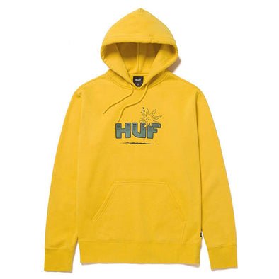 HUF Too High Pullover Hoodie Golden