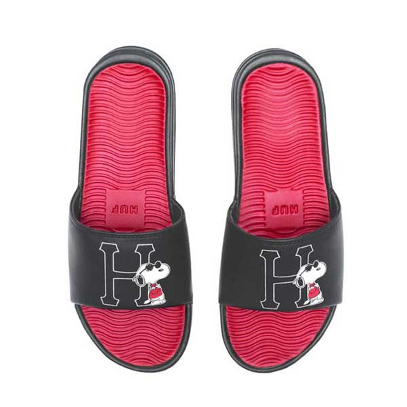 HUF x Peanuts Joe Cool Slide Black