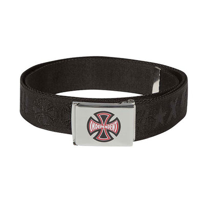 Independent Ante Web Belt Black