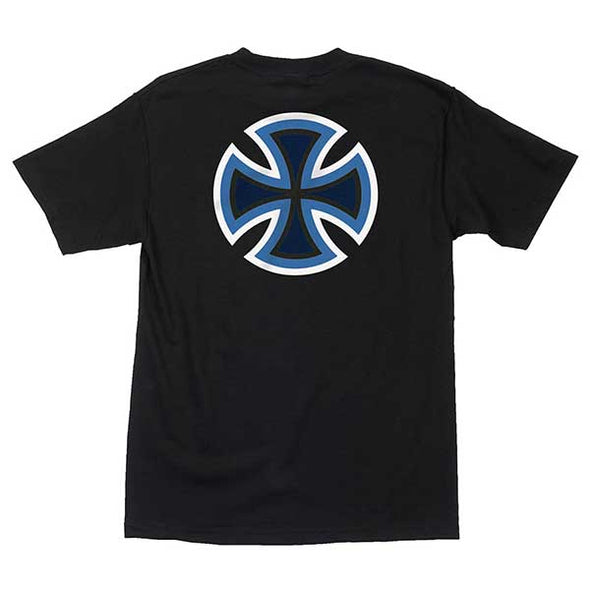 Independent B/C Primary Regular S/S T-Shirt Black/Blue