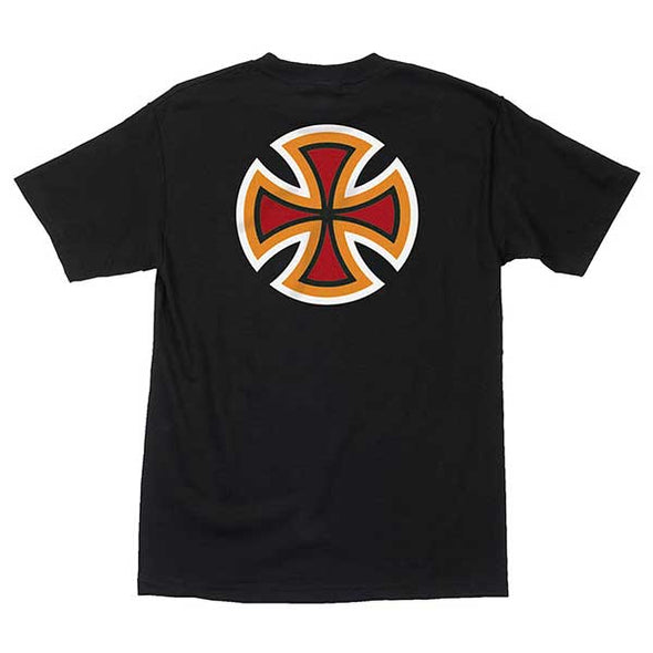 Independent B/C Primary Regular S/S T-Shirt Black/Red