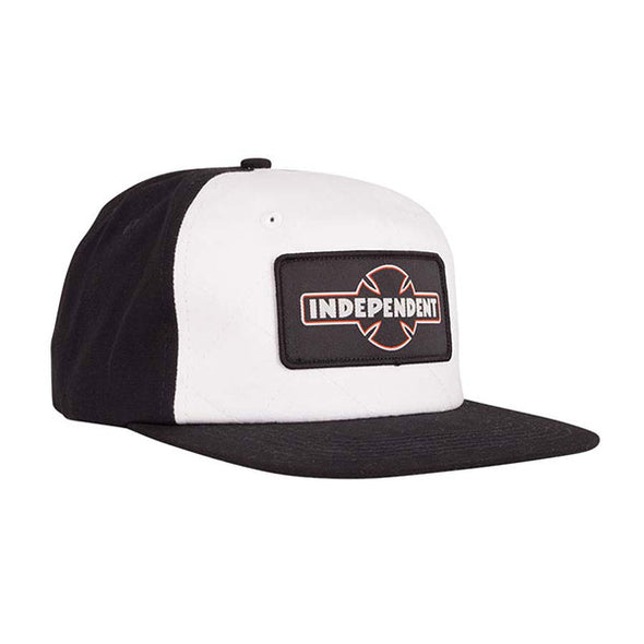Independent Dual Pineline O.G.B.C. Strapback Black/White