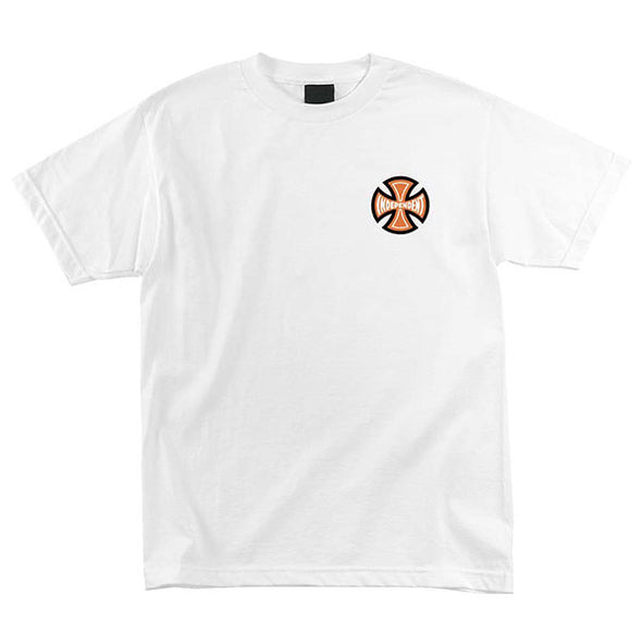 Independent Guaranteed for Life Regular S/S T-Shirt White