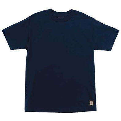 Independent ITC Bold Regular S/S T-Shirt Navy