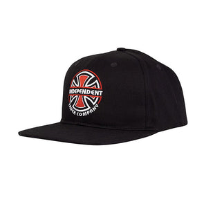 Independent Linear B/C Snapback Black
