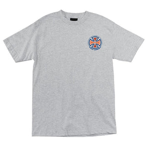 Independent Spectrum Truck Co. Regular S/S T-Shirt Athletic Heather