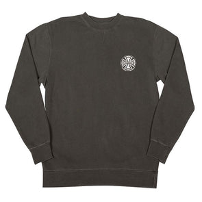 Independent Truck Co. Embroidery Crew Sweatshirt Pigment Black