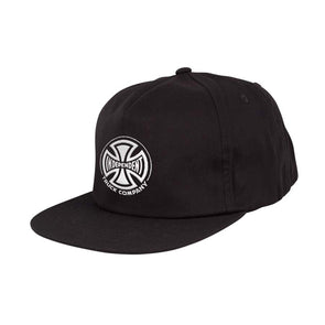 Independent Truck Co. Embroidery Unstructured Strapback Black