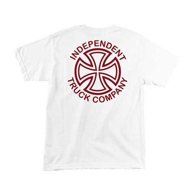 Independent Vertical White - Xtreme Boardshop