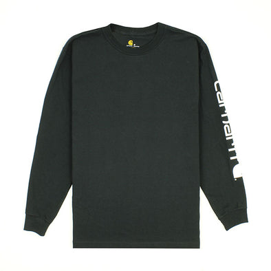 Carhartt Workwear L/S Graphic Logo Black