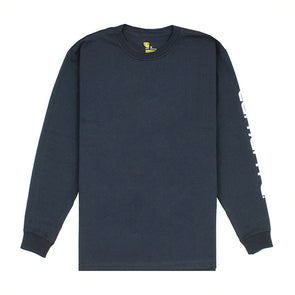 Carhartt Workwear L/S Graphic Logo Navy