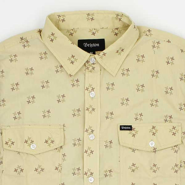 Brixton Memphis S/S Woven Maize - Xtreme Boardshop
