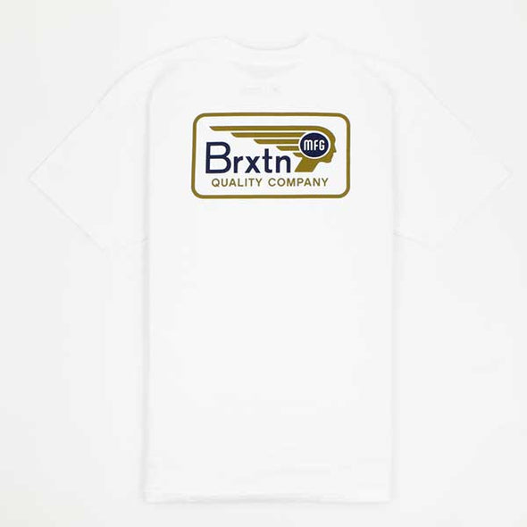 Brixton Messenger White - Xtreme Boardshop