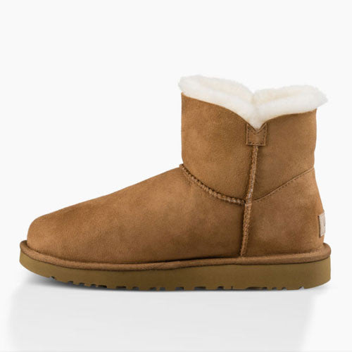 878210f502c UGG Women's Mini Bailey Button II (1016422) Chestnut