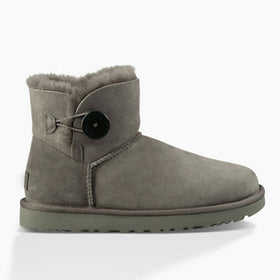 UGG Women's Mini Bailey Button II  (1016422) Grey