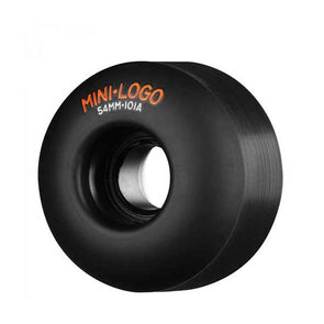 Mini Logo Skateboard Wheels Black - Xtreme Boardshop
