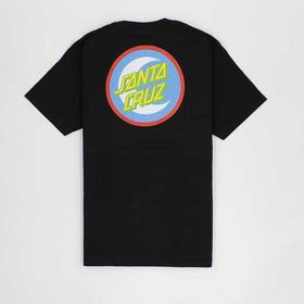 Santa Cruz Moon Dot Badge Black