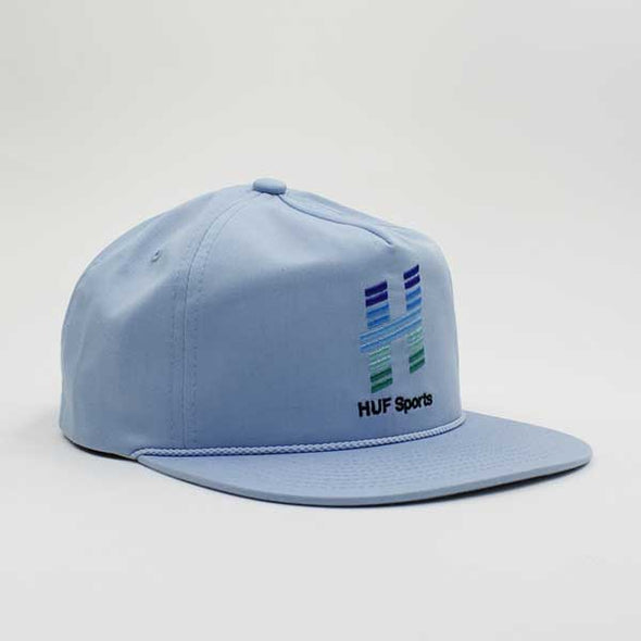 HUF Network Snapback Light Blue - Xtreme Boardshop