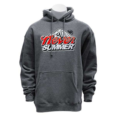 Never Summer Cold Mountain Pullover Gunmetal Heather - Xtreme Boardshop