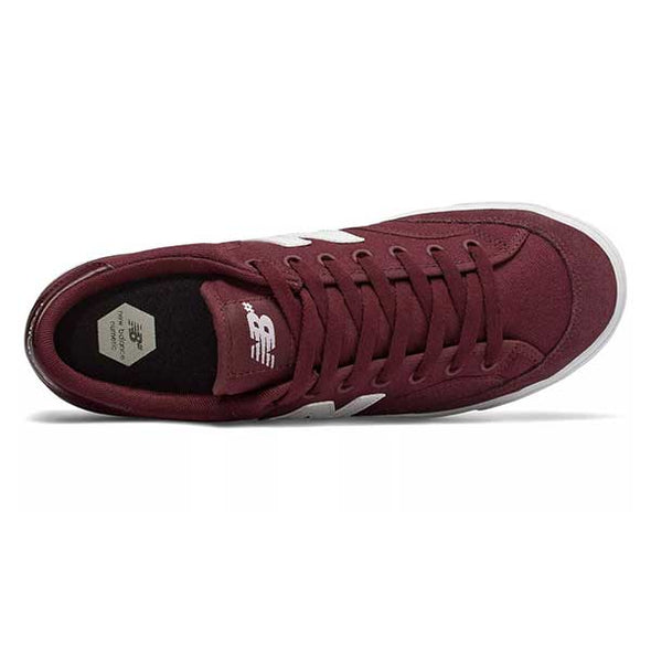 New Balance Numeric 212 Burgundy/White