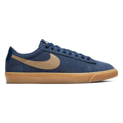 Nike SB Blazer Low GT Midnight Navy/Gum Light Brown/Khaki