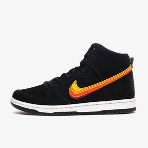 Nike SB Dunk High Pro Black/University Gold/Team Orange