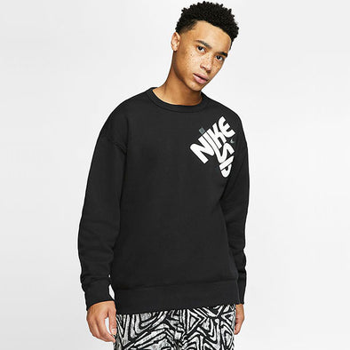 Nike SB Icon Drop Shoulder Crew Black/White
