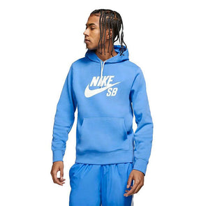 Nike SB Icon Hoodie Pacific Blue/Sail