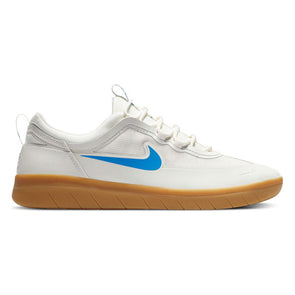 Nike SB Nyjah Free 2 Summit White/Gum Light Brown/Light Photo Blue