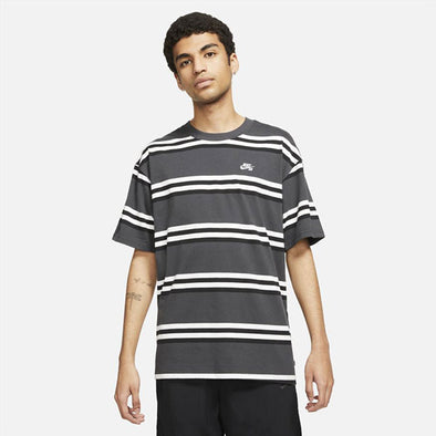 Nike SB YD Stripe Tee Dark Smoke Grey