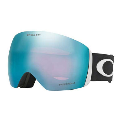 Oakley 2019 Flight Deck™ (Asia Fit) Matte Black with Prizm Snow Sapphire Iridium