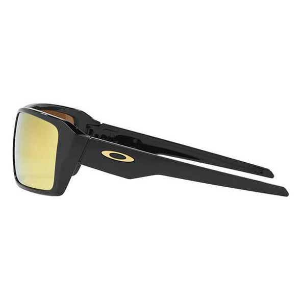 Oakley Double Edge Polished Black with 24k Iridium (OO9380-0266) - Xtreme Boardshop