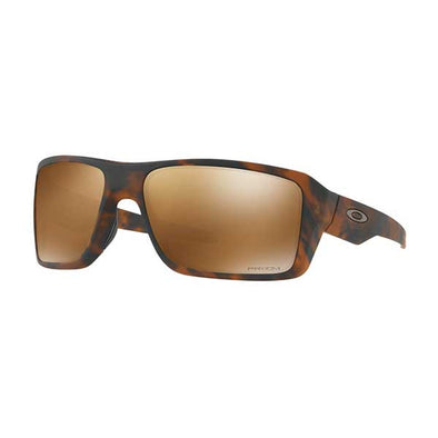 Oakley Double Edge PRIZM Polarized Matte Tortoise with Prizm Tungsten Polarized (OO9380-0766) - Xtreme Boardshop