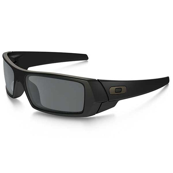 Oakley Gascan Polarized Matte Black/Black Iridium Polarized (12-856) - Xtreme Boardshop