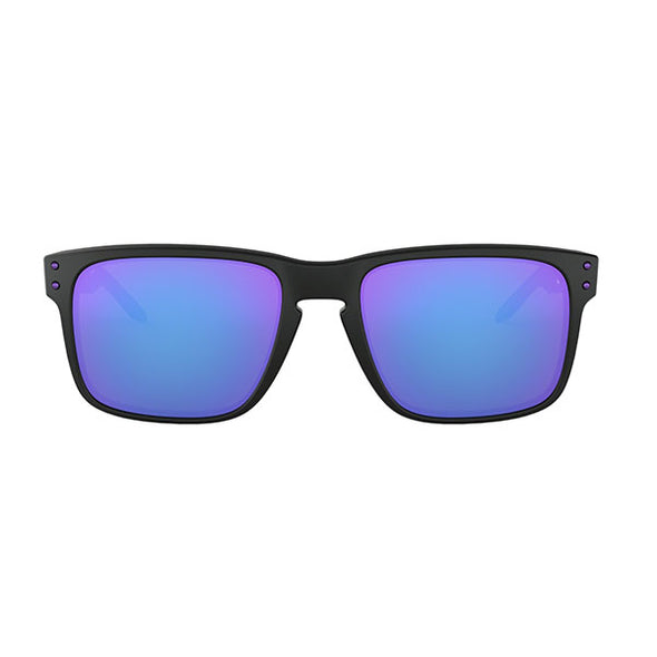 Oakley Holbrook Julian Wilson Signature Series Matte Black with Violet Iridium (OO9102-26)