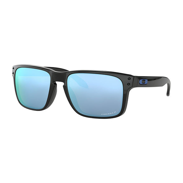 Oakley Holbrook Polarized Polished Black with Prizm Deep Water Polarized (OO9102-C1)