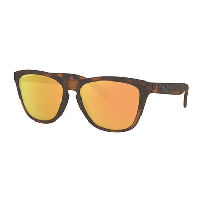 Oakley Frogskins Polarized Matte Brown Tortoise with Prizm Rose Gold Polarized (OO9013-G055)