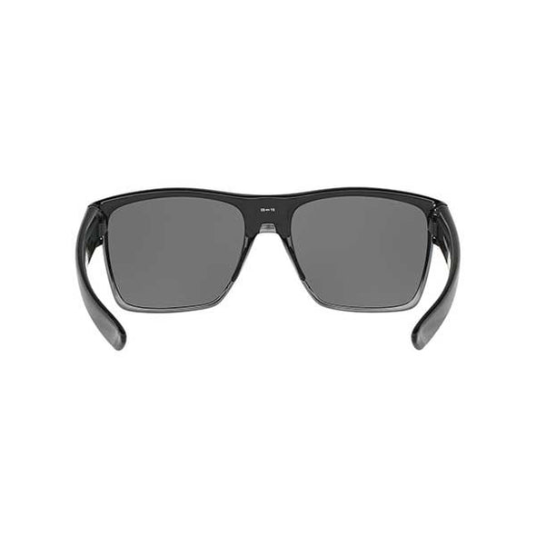 Oakley TwoFace XL Polarized Polished Black with Black Iridium Polarized (OO9350-01) - Xtreme Boardshop