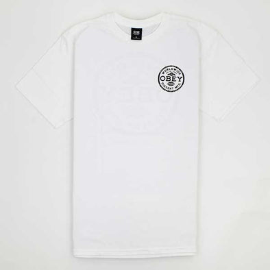 Obey Dissent White - Xtreme Boardshop