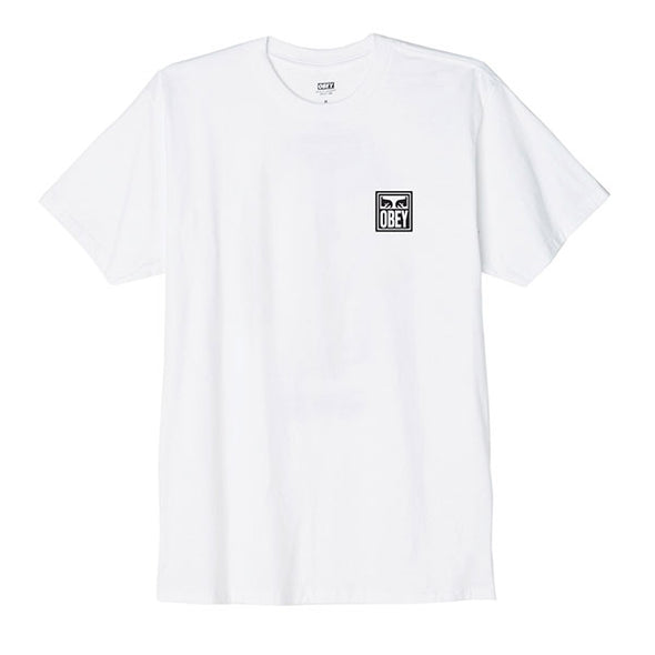 Obey Eyes Icon Basic Tee White
