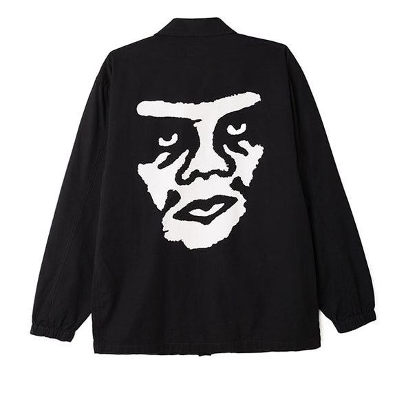 Obey Looming BDU Jacket Black