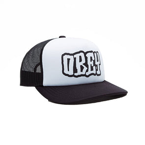 Obey Loot Trucker Hat Black