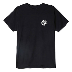 Obey Split Icon Basic Tee Black