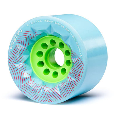 Orangatang Longboard Wheels Caguama 85mm 77a Blue