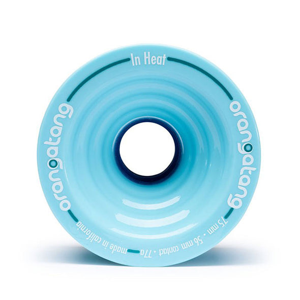 Orangatang Longboard Wheels In Heat 75mm 77a Blue