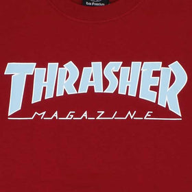 Thrasher Outlined Cardinal Red