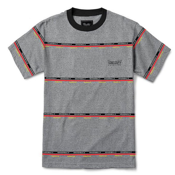 Primitive DBZ Co-Op Knit Tee Grey Heather